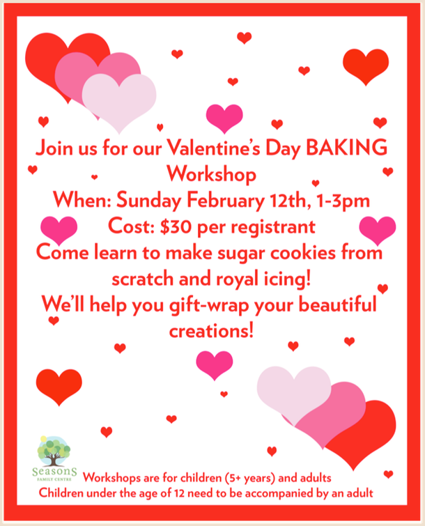Valentine's Day Baking Workshop