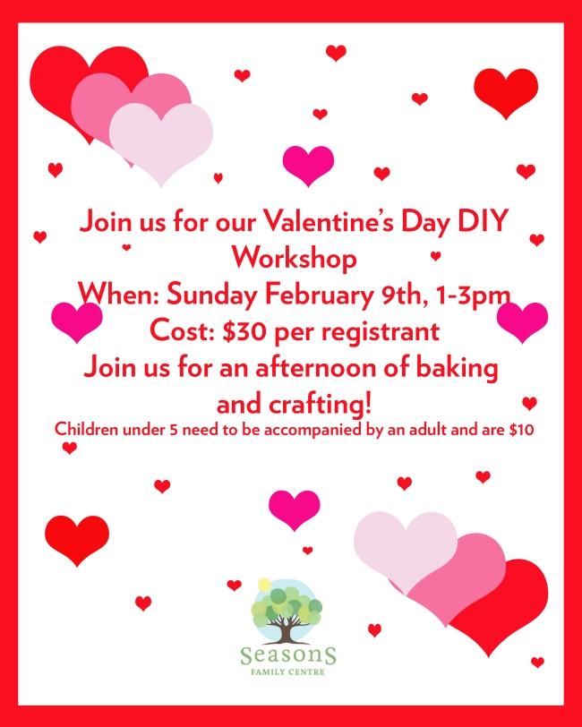 Valentine's Day Workshop