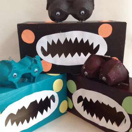 Kleenex Box Monsters